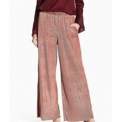 ファッション パンツ HYFVE Womens Pants Pink Size Small S Wide Leg Slash Pockets Stretch