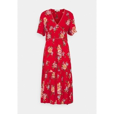 デリ ワンピース レディース トップス SUPERSTITIEUSE DRESS - Day dress - red