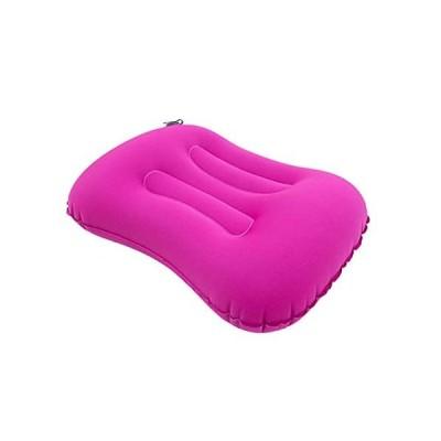 送料無料!Camping Pillow, Ultralight Inflatable Travel Pillow Compressible Compact Comfortable Ergonomic Air Pillow for Outdoor (Color
