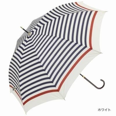 日傘雨傘 服飾雑貨 傘 日用品 ファッション 雨傘 ボーダー 超撥水 UVカット 通勤 通学 おしゃれ