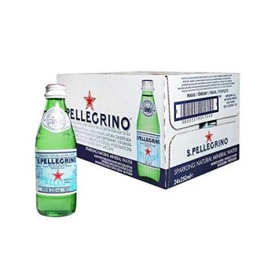 Sanpellegrino(サンペレグリノ) 炭酸入りナチュラルミネラルウォーター250ml×24本 [正規輸入品]