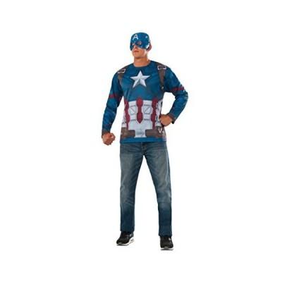 Rubie's Men's Marvel Captain America: Civil War Costume Top and Mask, Standard[並行輸入品]