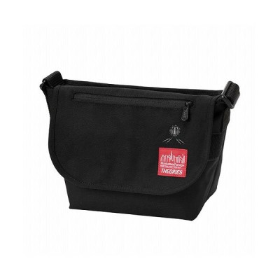 【マンハッタン ポーテージ】 Manhattan Portage ×THEORIES Casual Messenger Bag JR ユニセックス Black S Manhattan Portage