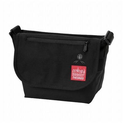【マンハッタン ポーテージ】 Manhattan Portage ×THEORIES Casual Messenger Bag JR ユニセックス Black S Manhattan Portage
