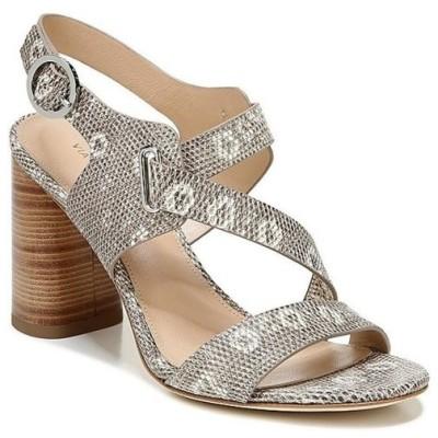 ヴィアスピガ レディース サンダル シューズ Hyria Lizard Print Leather Stacked Block Heel Dress Sandals