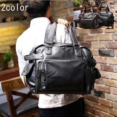 トートバッグビジネスバッグメンズブリーフケースカバンレザー2WAYショルダーバッグ大容量手提げ多用実用性斜めがけ鞄大人気