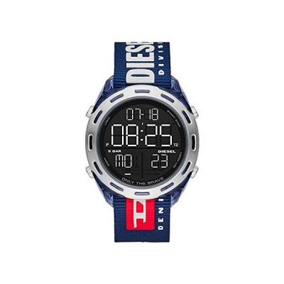 Diesel Crusher デジタル腕時計 One Size ブルー