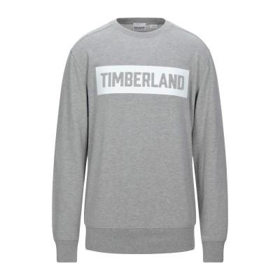 ティンバーランド TIMBERLAND スウェットシャツ グレー M コットン 80% / ポリエステル 20% スウェットシャツ