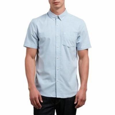 ボルコム シャツ Everett Solid Shirt Wrecked Indigo