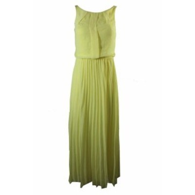 Pale  ファッション ドレス B Darlin Pale Yellow Pleated Column Dress 3-4