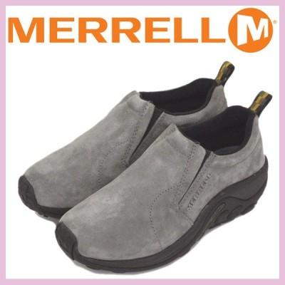 MERRELL (メレル) J60806 ウィメンズ JUNGLE MOC ジャングルモック アウトドア レザーシューズ PEWTER MRL007