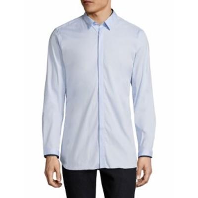 ザ クープルズ Men Clothing Spread Collar Buttoned Sportshirt