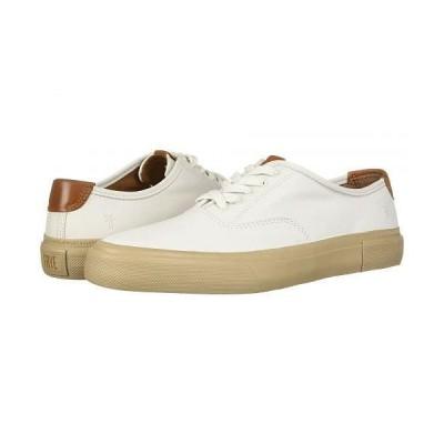 Frye フライ メンズ 男性用 シューズ 靴 スニーカー 運動靴 Ludlow Bal Oxford - White Sheep Leather