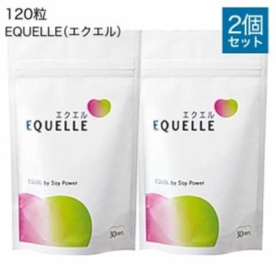大塚製薬 エクエル パウチ 120粒 2個 正規品 [ エクオール 大豆イソフラボン サプリ 2袋 セット EQUELLE ] メール便 送料無料