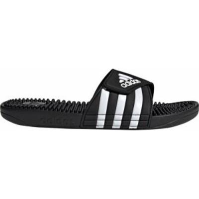 アディダス メンズ サンダル シューズ adidas Men's Adissage Slides Black/White