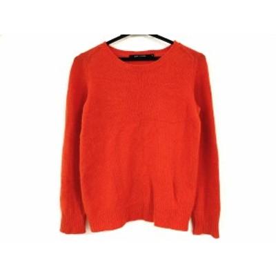ソフィードール SOFIE D'HOORE 長袖セーター サイズ36 S レディース - オレンジ クルーネック【中古】20201229