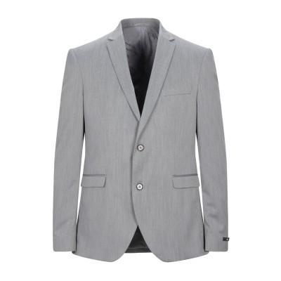 I'M BRIAN テーラードジャケット グレー 52 ポリエステル 100% テーラードジャケット