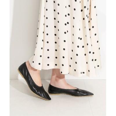 【イエナ】 Lamb Walking Shoes with b◆ レディース ブラック 38 IENA