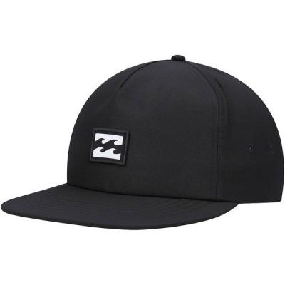 ビラボン メンズ 帽子 アクセサリー Billabong Platform Adjustable Hat Black