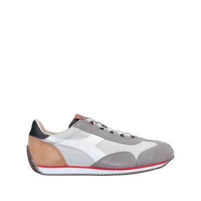DIADORA HERITAGE スニーカー&テニスシューズ(ローカット) グレー 6.5 革 紡績繊維 スニーカー&テニスシューズ(ローカット)