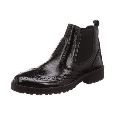 サヴァサヴァ ブーツ 3205001 レディース ブラックエナメル 24 cm