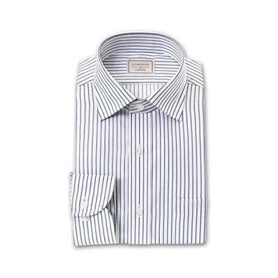 [ロードソン バイ チョーヤ]形態安定加工ワイシャツ ワイドカラー メンズ|COD705-455 [455-3982]