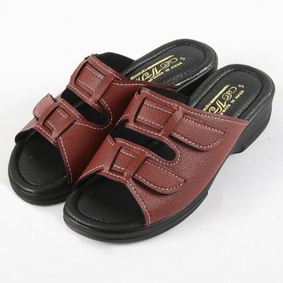 レディース サンダル 1360 スギブラウン S〜LL レディス 靴 シューズ
