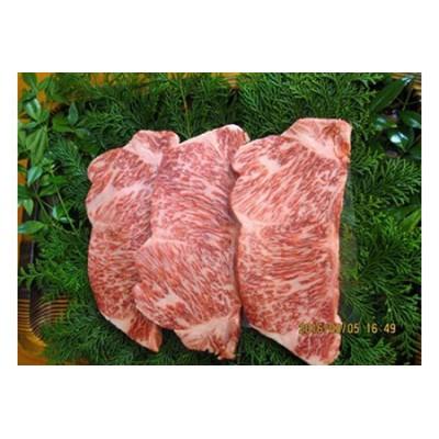 飛騨市推奨特産品 飛騨牛最高級5等級サーロインステーキ3枚で計750gをお届けします![H0005]