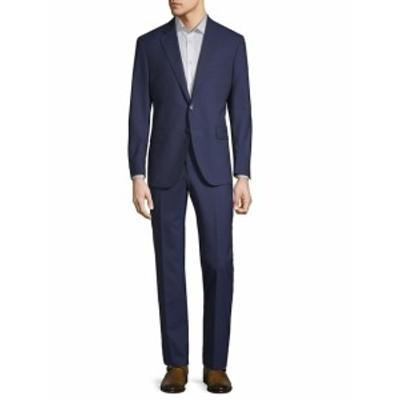 サックスフィフスアベニュー Men Clothing Tonal Pinstripe Wool Suit