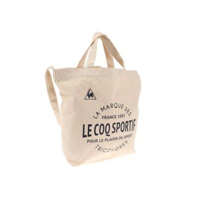 ルコック スポルティフ(Lecoq Sportif) キャンバス2WAYトートバッグ QMANJA30  IVO (メンズ、レディース)