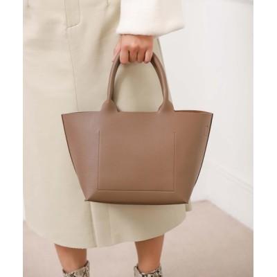 Edit Sheen / 巾着付きシンプルスムーストート WOMEN バッグ > トートバッグ