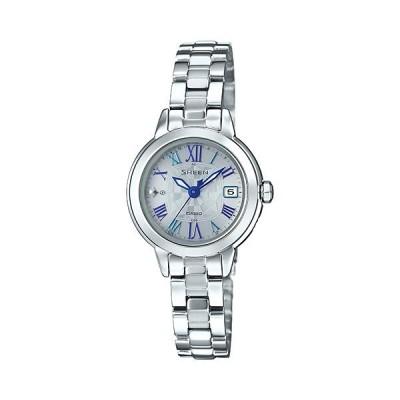カシオ ソーラー電波時計 SHW-5000D-7AJF シーン 女性用腕時計 CASIO Sheen 取り寄せ品