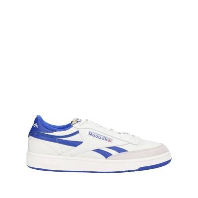 リーボック REEBOK スニーカー&テニスシューズ(ローカット) ホワイト 12.5 革 / 紡績繊維 スニーカー&テニスシューズ(ローカット)
