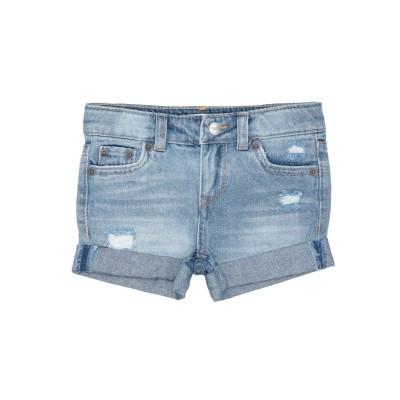LEVI' S デニムショートパンツ ブルー 6 コットン 100% デニムショートパンツ