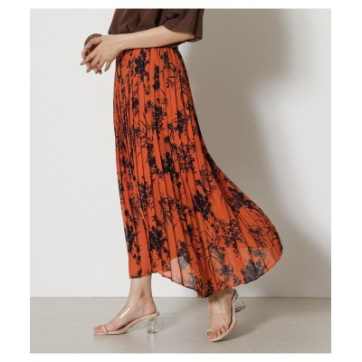 (AZUL by moussy/アズールバイマウジー)BOUQUET FLOWER SKIRT/レディース 柄ORG5