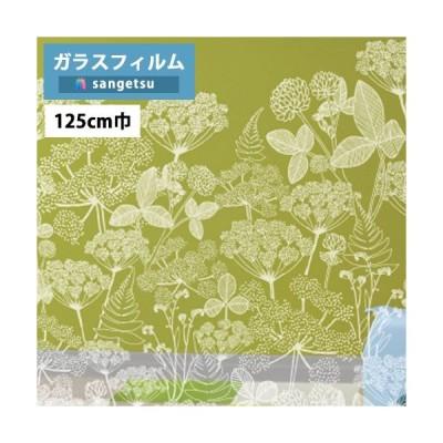 ガラスフィルム サンゲツ クレアス GF1841 125cm巾 Playful Pattern プレイフルパターン ニッティポルク フィンレイソン【1m単位での販売となります】
