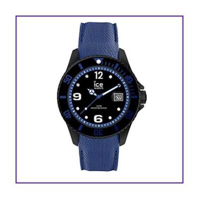 Ice-Watch ICE Steel Large Black Blue 44mm Men's Watch 015783 並行輸入品