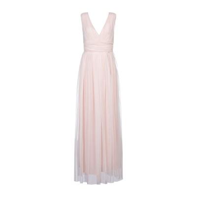 レリッシュ RELISH ロングワンピース&ドレス ライトピンク M ポリエステル 100% ロングワンピース&ドレス