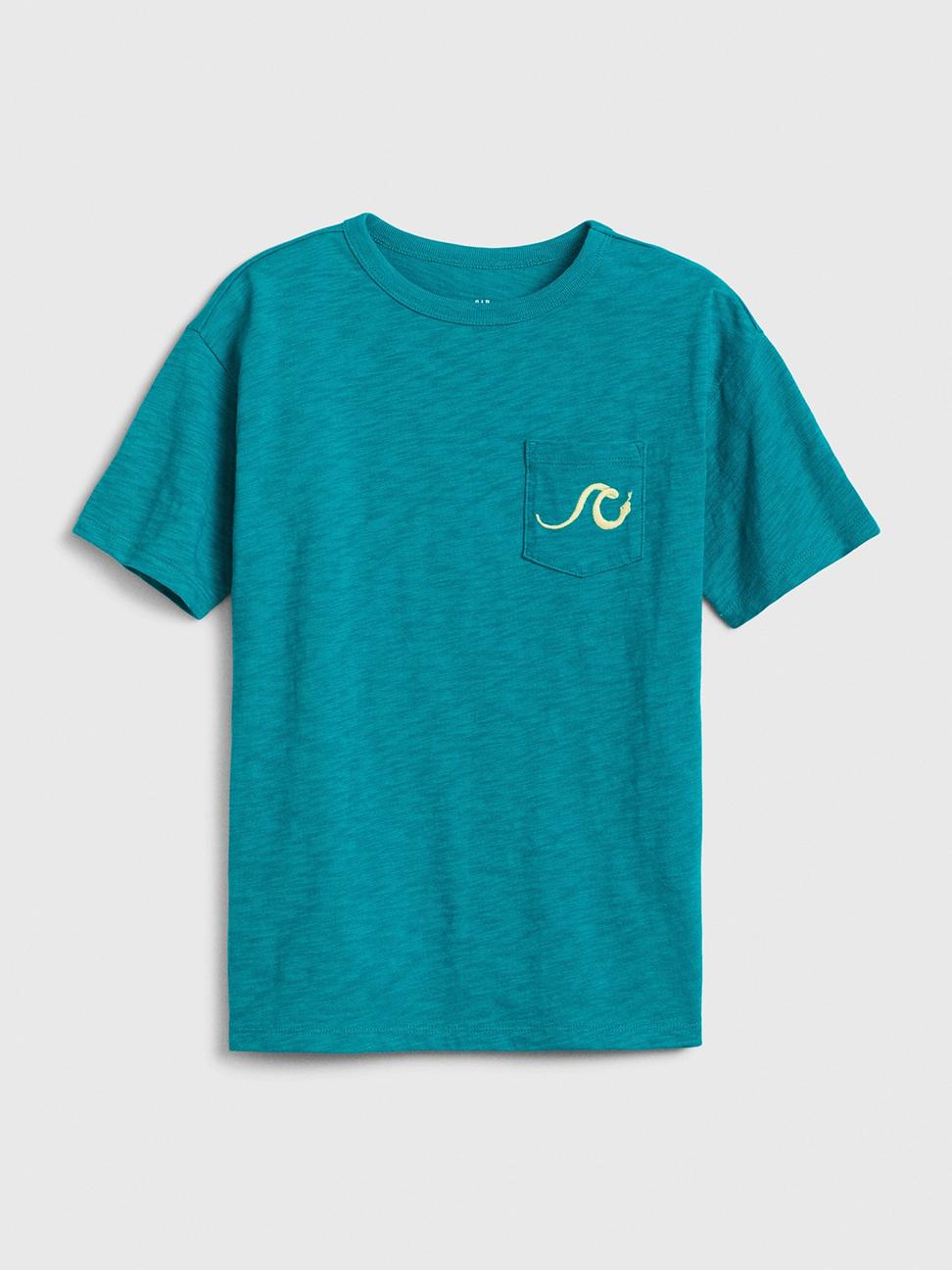 男童 創意風格圓領短袖T恤