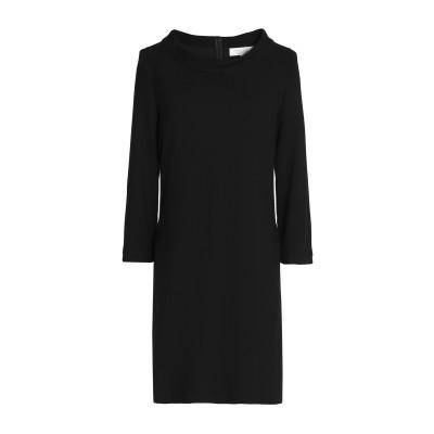 ゴート GOAT ミニワンピース&ドレス ブラック 8 ウール 100% ミニワンピース&ドレス