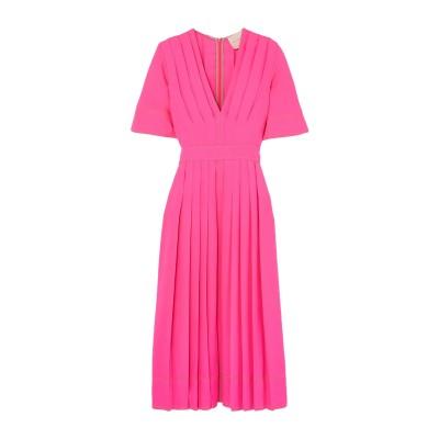 ROKSANDA 7分丈ワンピース・ドレス フューシャ 6 シルク 100% 7分丈ワンピース・ドレス
