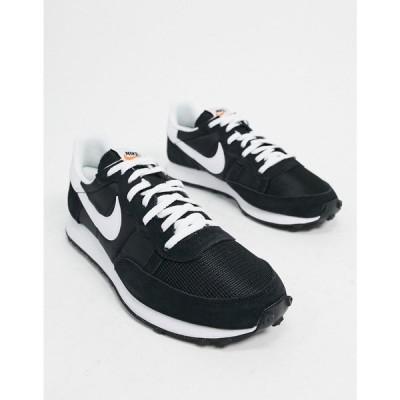 ナイキ Nike メンズ スニーカー シューズ・靴 Challenger OG trainers in black ブラック