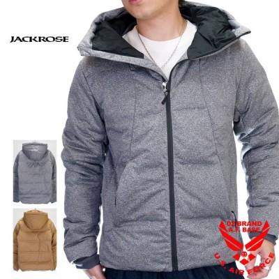 アウトレットセール!!ジャックローズ シームレス加工 フード付き ダウンジャケット アウター メンズ 新作2021年モデル JACKROSE 293003h-a