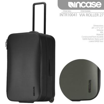 インケース バッグ スーツケース INCASE VIA ROLLER 27 80L INTR10041 ローラー キャリーバッグ キャスター メンズ レディース ユニセックス[ZRC]