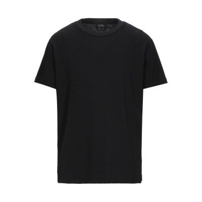 SELF MADE by GIANFRANCO VILLEGAS T シャツ ブラック S コットン 100% T シャツ