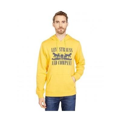 Levi's(R) リーバイス メンズ 男性用 ファッション パーカー スウェット Cole - Yolk Yellow