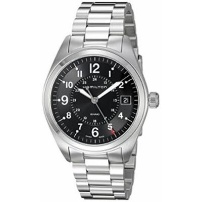 Hamilton ハミルトン メンズ 時計 腕時計 Mens Khaki Field Swiss Quartz Stainless Steel Casual Watch (Model: H68551933)