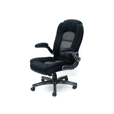 送料無料 オフィスチェア メッシュ生地 肘付き キャスター付き 回転イス デスクチェア 椅子 83-9917