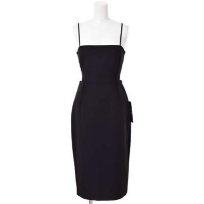 BCBGMAXAZRIA ESMEE ストレッチ ドレス 0 ブラック ビーシービージーマックスアズリア