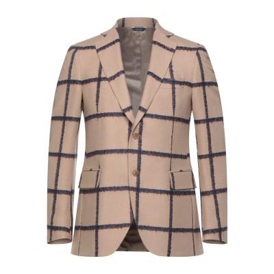 TOMBOLINI テーラードジャケット サンド 48 ウール 92% / モヘヤ 4% / ナイロン 4% テーラードジャケット
